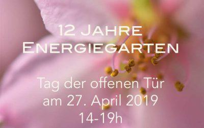 12 Jahre Energiegarten