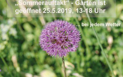 Sommerauftakt – Garten geöffnet